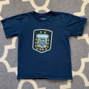 Boys Adidas Argentina National soccer team shirt